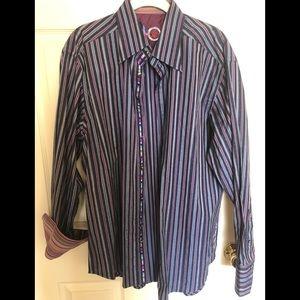 Men's Robert Graham Burton down shirt
